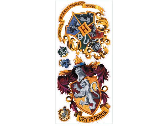 Harry Potter - Crest Peel & Stick Giant Wall Decal
