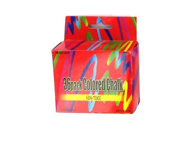24 Packs of 36 Pack colored chalk