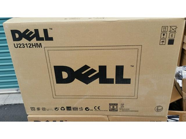 "Dell UltraSharp U2312HM IPS-Panel Black 23"" 8ms Swivel & Height Adjustable Widescreen LCD Monitor with LED 300 cd/m2 2 Million:1 ..."