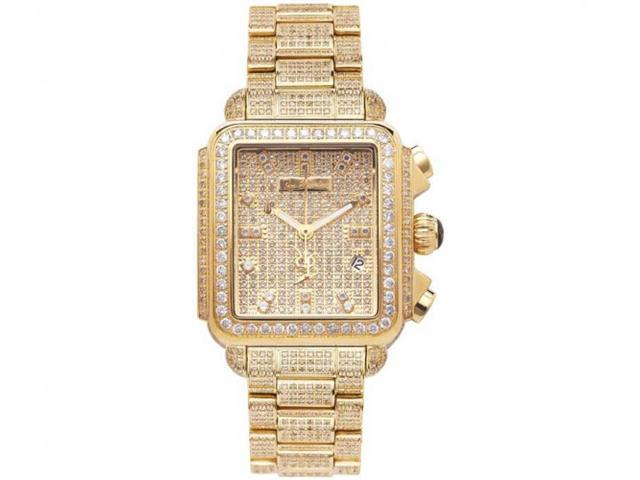 Joe Rodeo Watches Madison Fully Paved Diamond Watch 12c