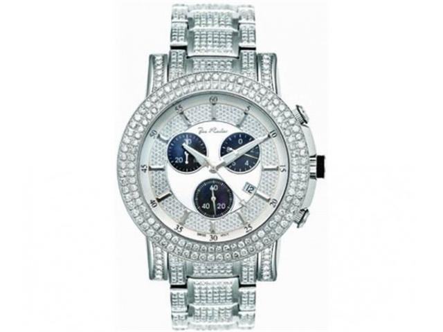 Mens Diamond Watch Joe Rodeo Trooper 14.50ct