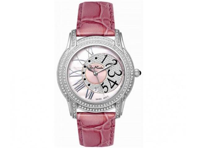 Joe Rodeo Diamond Womens Watch 1.35ct Pink Beverly
