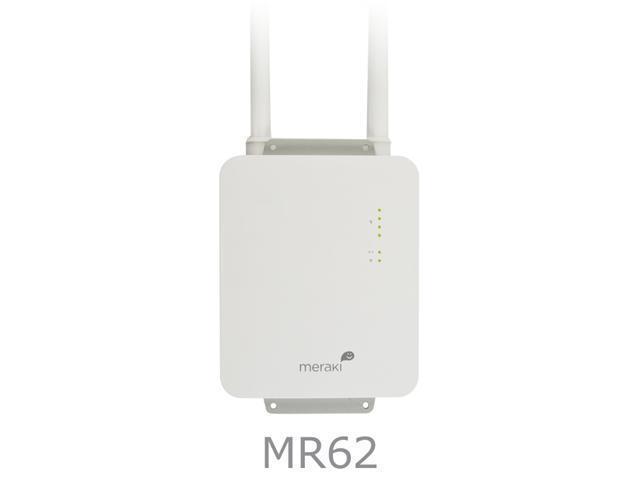 Meraki Ruggedized Single-Radio 300 Mbps Cloud-Managed Wireless 802.11n Access Point (MR62)