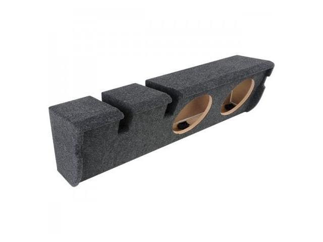Atrend A352-10Cp B Box Series 10-Inch Dual Down-Fire Subwoofer Boxes