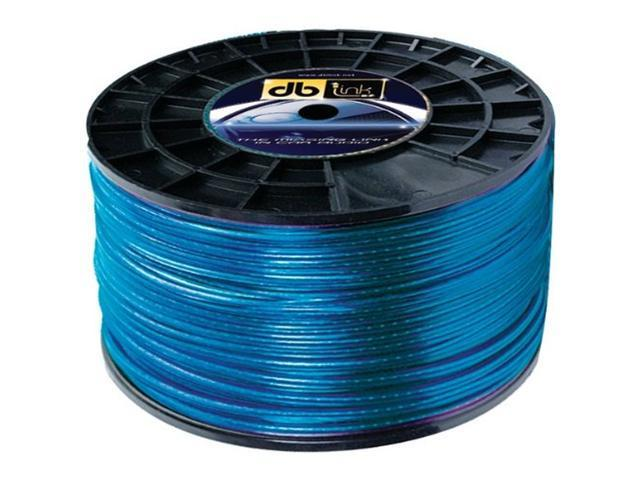 DB Link SW10G100Z 100 Feet 10 Gauge Speaker Wire (Blue)