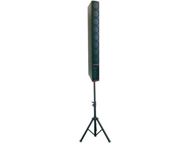 Nady MaxTower PAS-250 Portable PA System with Eight 3-Inch Line Array Speakers