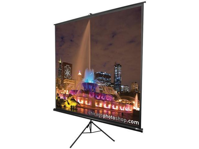 Elite Screens Tripod Portable Projection Screen, 1:1 Aspect Ratio-71""