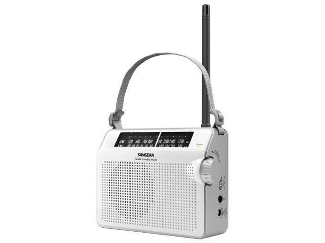 Sangean America PR-D6WH PR-D6WH AM/FM Compact Analog Portable Radio