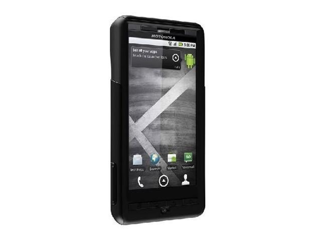 OtterBox Commuter Series Hybrid Case for Motorola Droid X - Black - 1 Pack - Retail Packaging