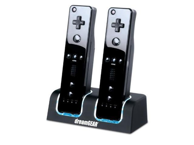 Dreamgear DGWII-3117 Charging Dock Dual for Nintendo Wii