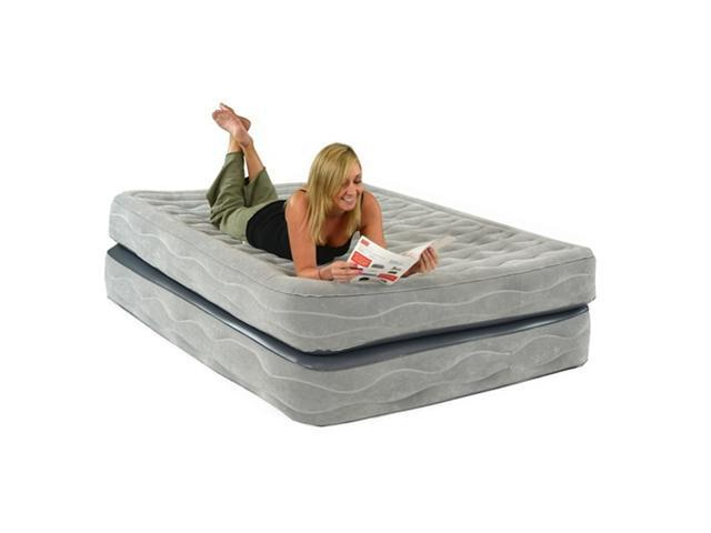 Smart Air Bed Champion Queen Raised Air Bed with Built-In Pump (BD-9222DZ) - OEM