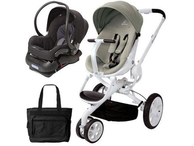 quinny moodd stroller travel system with diaper bag and car seat natural delight. Black Bedroom Furniture Sets. Home Design Ideas
