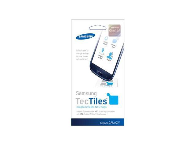 Samsung TecTile Programmable NFC Tags For Galaxy S III / S3 Retail Sealed ETC-TT1G6NGSTA