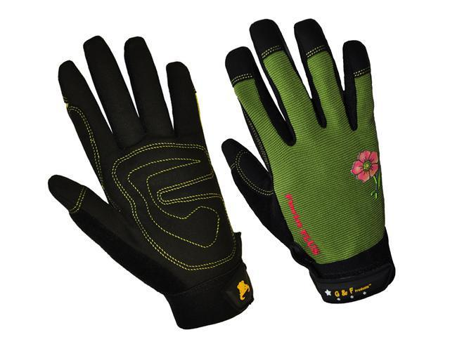 G & F Florist Plus High-Performance Women's Garden Gloves (Bonues 2 pair Pack)