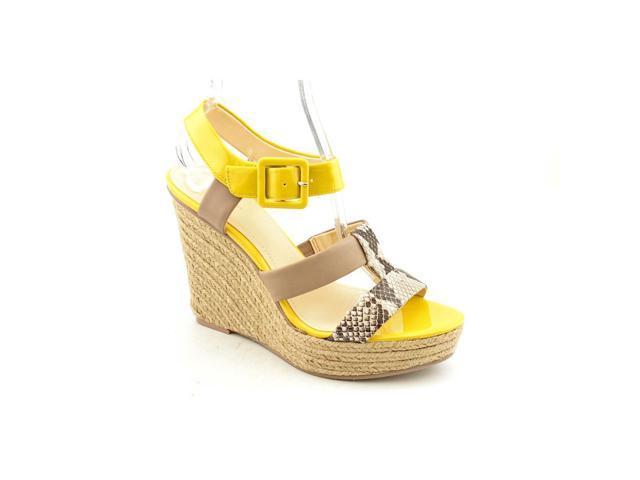 Calvin Klein Ellison Women US 8 Brown Wedge Sandal