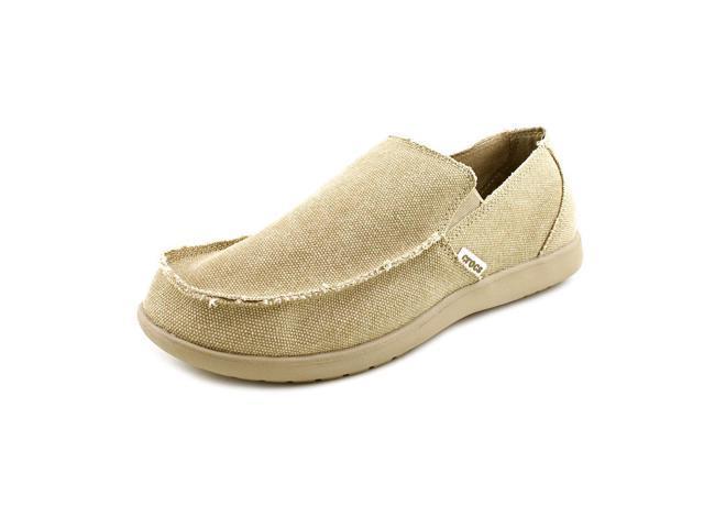 Crocs Santa Cruz  Men US 14 Tan Loafer