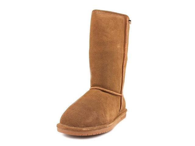 Bearpaw Emma Tall Womens Size 7 Brown Suede Winter Boots UK 5 EU 38