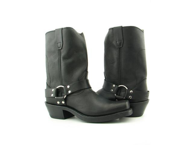 "Durango 10"" Crossroads Harness Boot Women US 8.5 Black Western Boot"