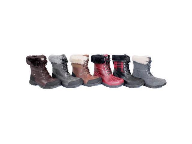 Ugg Australia Butte Men US 9.5 Gray Snow Boot UK 8.5 EU 42.5