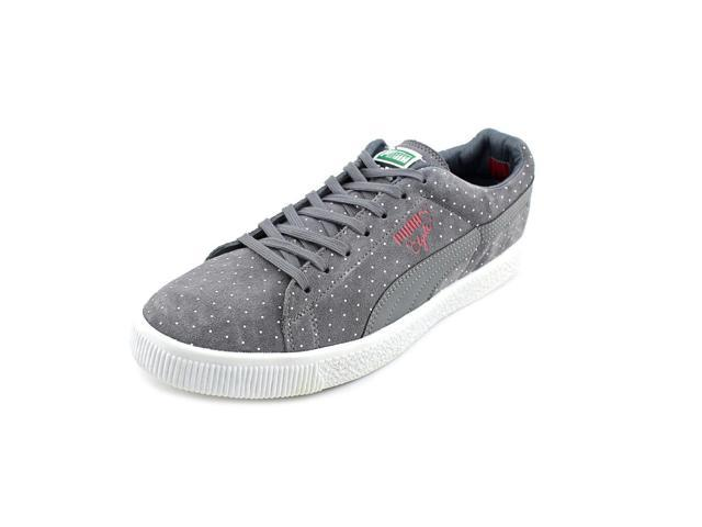 Puma Clyde X Undftd Micro-Dot Men US 9.5 Gray Sneakers UK 8.5 EU 42.5