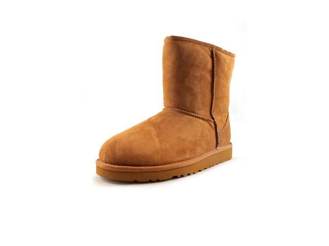Ugg Australia K Classic Youth Girls Size 13 Tan Suede Winter Boots