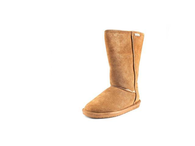 Bearpaw Emma Tall Womens Size 12 Brown Suede Winter Boots
