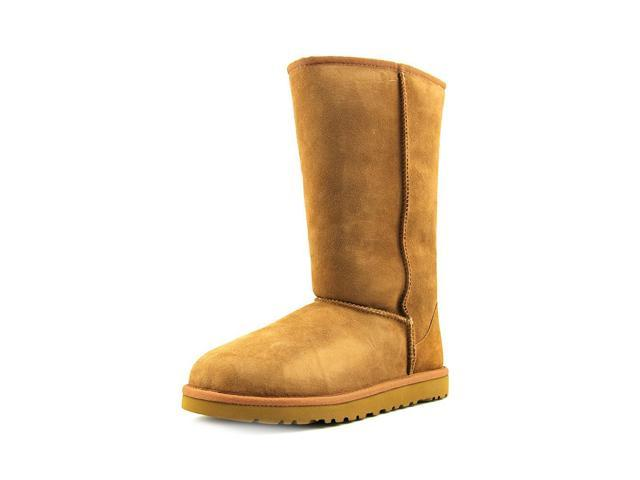 Ugg Australia Classic Tall Youth Girls Size 1 Brown Boots Winter Snow Boots