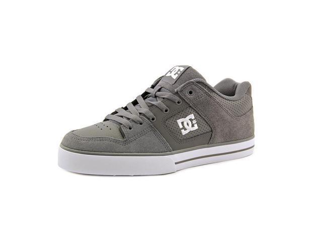 DC Shoes Pure Men US 9 Gray Skate Shoe