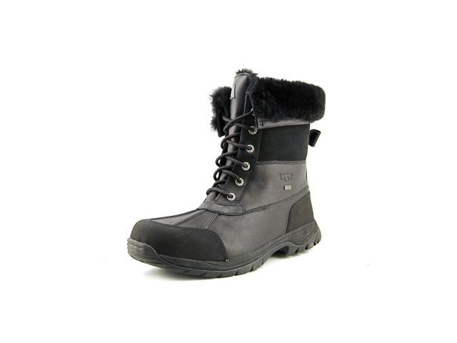 Ugg Australia Butte Men US 11 Black Snow Boot