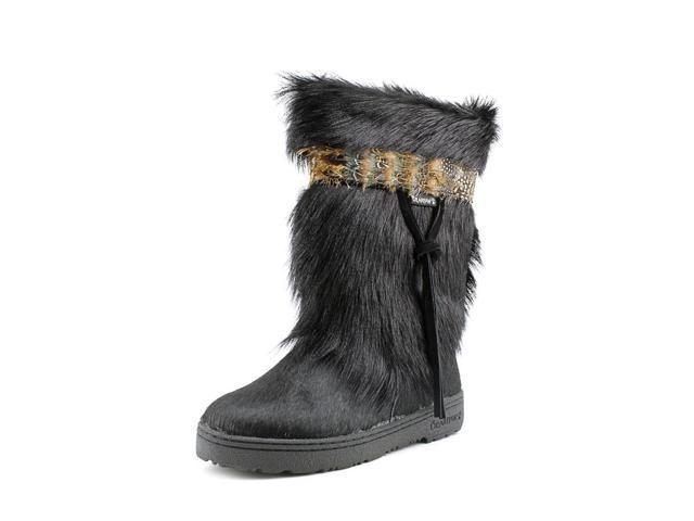 Bearpaw Kola II Women US 8 Black Snow Boot
