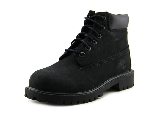 Timberland 6in Prem Youth US 1 Black Boot UK 13.5 EU 32.5