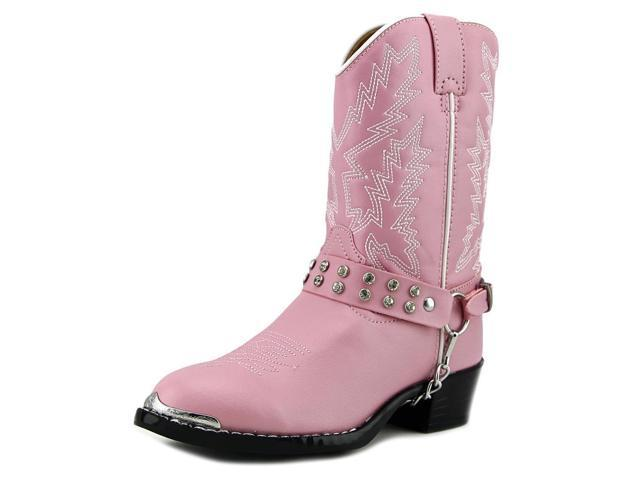 Durango BT568 Youth US 2.5 Pink Western Boot UK 1.5 EU 34