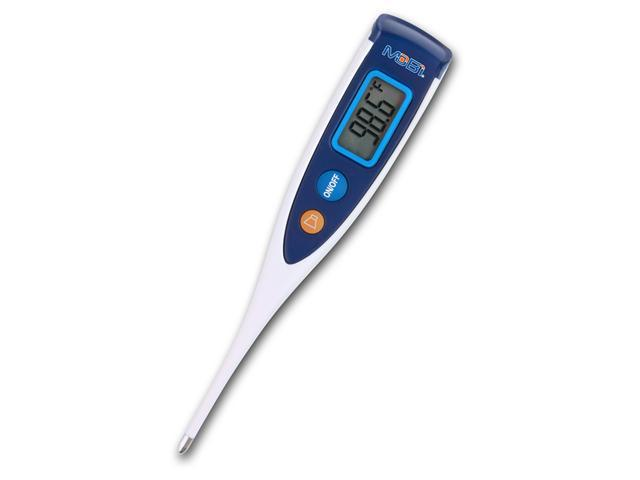 Oral Digital Thermometer, 6 Selectable language readout, Fast Readings, Farenheit or Celcius