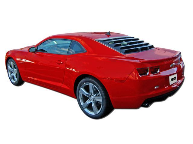 Mach-Speed 21010 Chevrolet Chevy Camaro Coupe ABS Rear Window Louver - 2010-2012