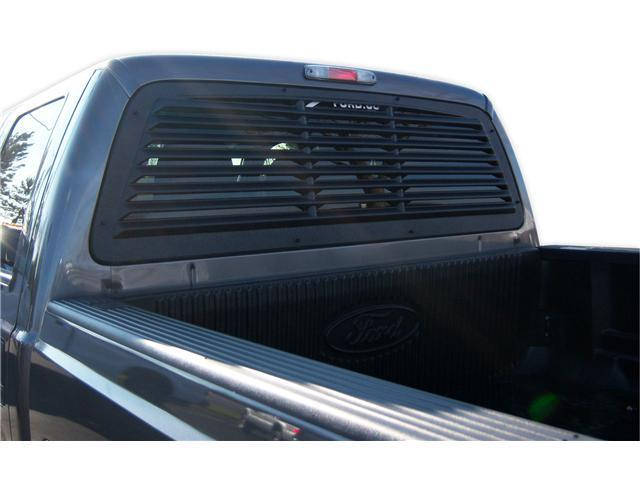 Mach-Speed 32002 Ford F250 - F350 - F450 - F550 - F650 ABS Rear Window Louver - 2008-2012