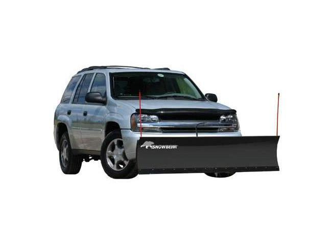 """SnowBear 324-080 Personal Snow Plow - 82"""" Blade - For Trucks and SUVs"""