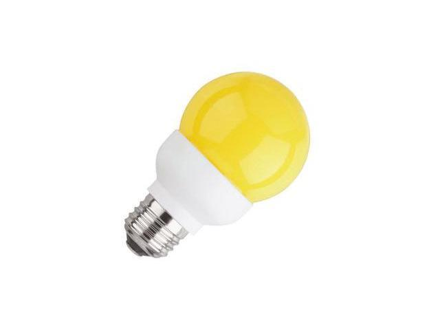 Westinghouse 03465 - 1G19/LED/A 1W G19 AMBER LED Globe LED Light Bulb