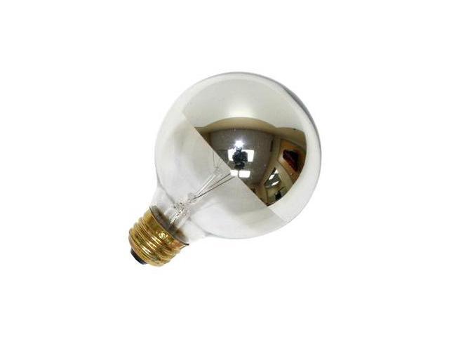 Westinghouse 03155 - 25G25/CH Silver Bowl Light Bulb