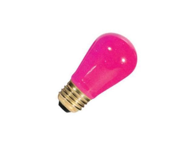 Bulbrite 701601 - 11S14CP Standard Screw Base Colored Scoreboard Sign Light Bulb