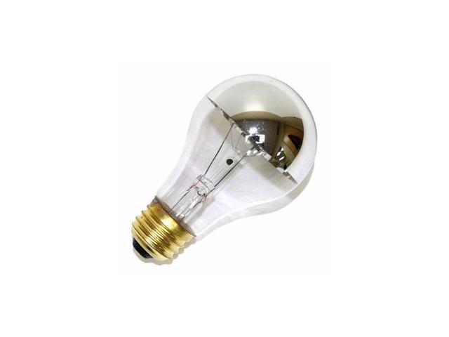 Halco 101180 - A19CL60/SB Silver Bowl Light Bulb