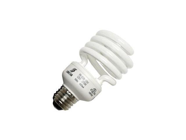 LongStar 00193 - FE-IISB-23W/27K Twist Medium Screw Base Compact Fluorescent Light Bulb
