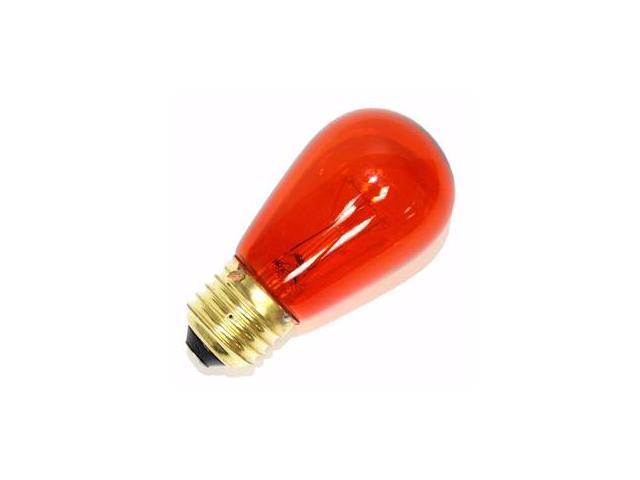 Vickerman 203141 - 11S14/TA 130V (V481108) Standard Screw Base Colored Scoreboard Sign Light Bulb