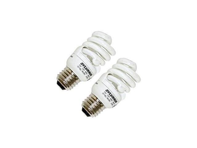 Sylvania 29401 - CF10EL/MICRO/827/RP2 Twist Medium Screw Base Compact Fluorescent Light Bulb