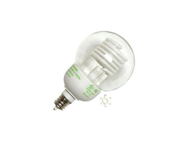 Litetronics 52930 - MB-538DP 5W G16.5 CL PW Cold Cathode Screw Base Compact Fluorescent Light Bulb