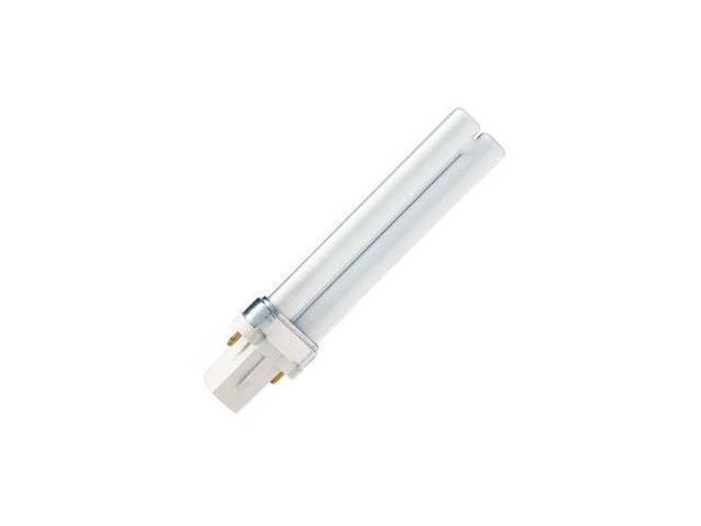 Philips 148718 - PL-S 7W/827/2P ALTO Single Tube 2 Pin Base Compact Fluorescent Light Bulb