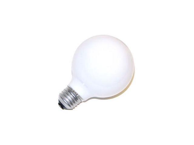 GE 12979 - 40G25/W G25 Decor Globe Light Bulb