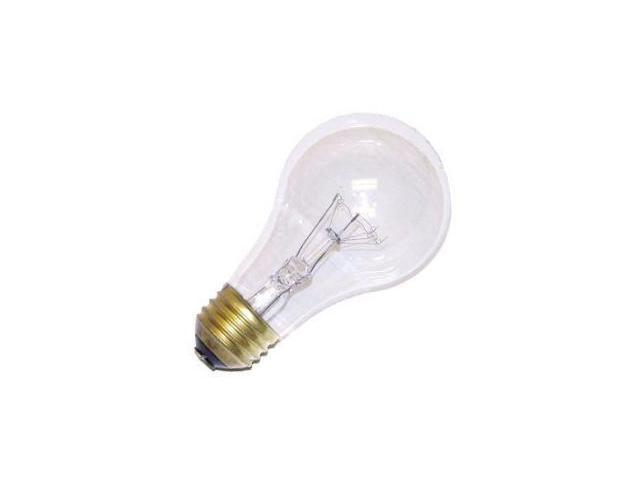 Ushio 1003216 - 25W A-19/CL/20K A19 Light Bulb