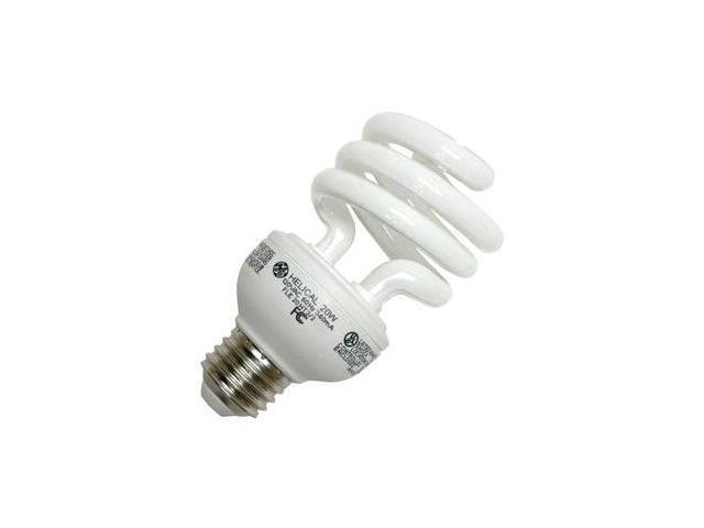 GE 25186 - FLE20HT3/2/841 Twist Medium Screw Base Compact Fluorescent Light Bulb