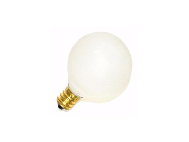 Satco 03830 - 10G12-1/2/W S3830 G12 5 Decor Globe Light Bulb