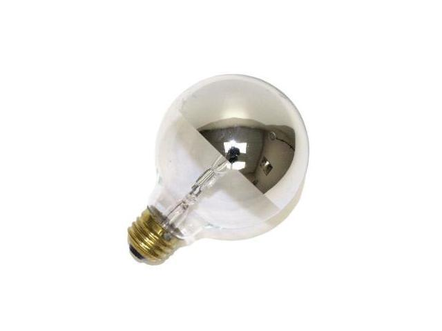 Satco 03860 - 25G25/SL S3860 Silver Bowl Light Bulb